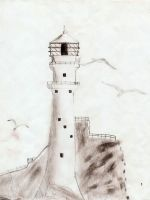 lighthouse by Niviella