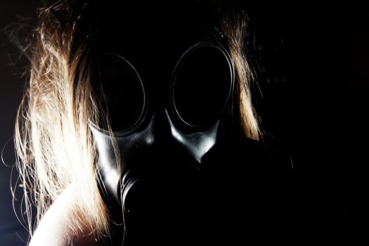 Gas Mask 3 by JDSPhotography