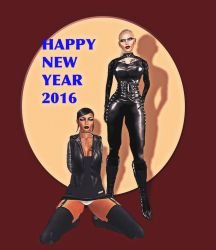Happy New Year ! by Sarah-Fhang