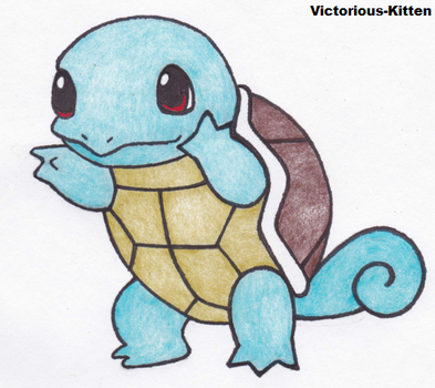 Squirtle by Victorious-Kitten