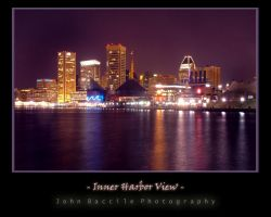 Inner Harbor View West by barefootphotography