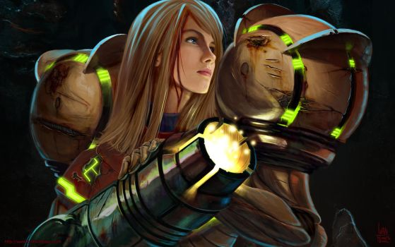 Samus Aran: Battlescars by transfuse
