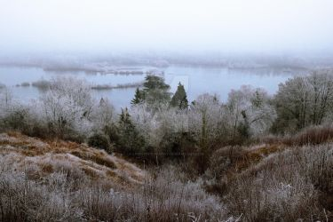Winter landscape by LPCPhotography
