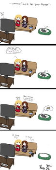::The Plus Side of Dating...:: by Batty-Brandyn