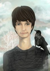 The crow boy by mondofragile