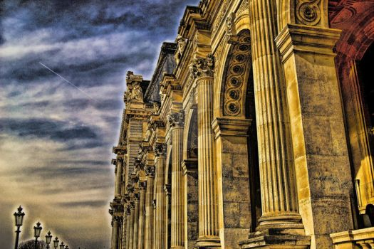 The Golden Architecture by RiegersArtistry