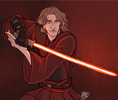 Anakin Skywalker by naomimakesart
