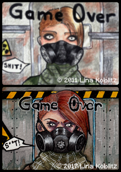 draw it again Game Over by DrGravedancer
