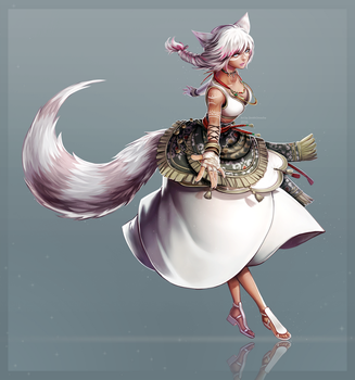 Commission: A'shtola Oya by ZenithOmocha