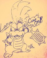 Larry koopa by IBUKICHI