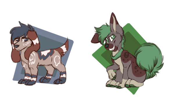 Small canines Adopts OTA (OPEN 1/2) by sinnocturnal