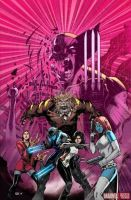 Death of Wolverine The Logan Legacy issue #1 cover by olivernome