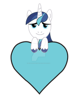 Shining Armor Valentine by BrittanysDesigns