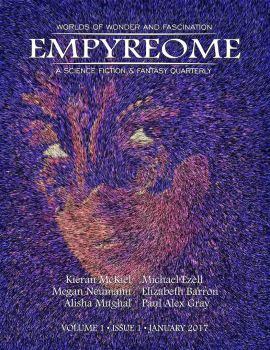 Empyreome Volume 1 Issue 1 Cover Art by RandallHzr