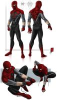 Project Rooftop:Spider-Man 2.0 by deralbi