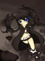 Black Rock Shooter by FlurKitty