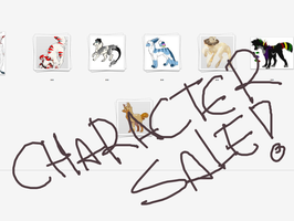 Character Sale!! OFFER by zokia