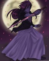 +- Dark Warrior -+ - Kenshin by yamiyugi