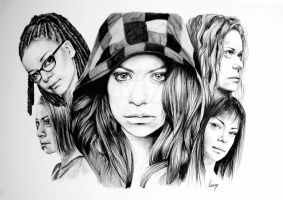ORPHAN BLACK by LouvyBomb