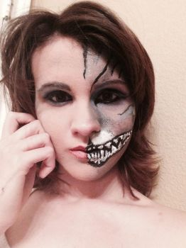 Cheshire Cat makeup by AdrianEclipse