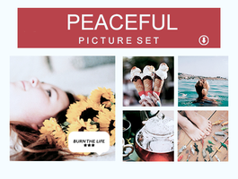 Peaceful | PICTURE SET| by Burn-the-life