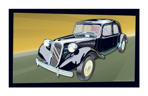 Citroen Traction Avant by MercenaryGraphics