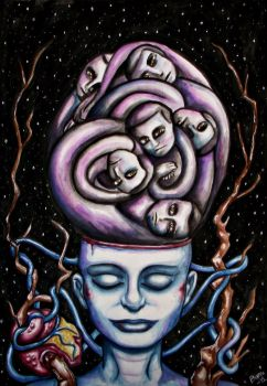 The Release of the Mind Ghosts by BannBann
