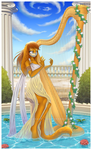 CE: _Playing the Harp_ by Shide-Dy