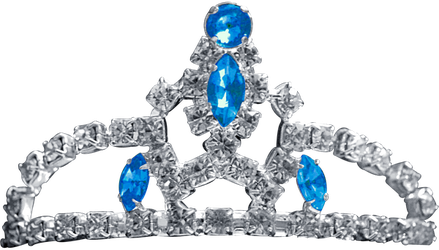 Silver Tiara - Blue Topaz by Dori-Stock