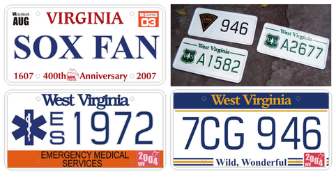 'US License Plates' props by E1design