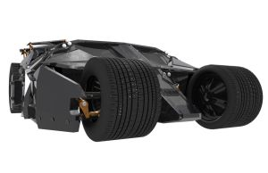 Batmobile -the Tumbler- Cam view 3 by JDVN7
