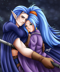 All he wants is to protect her by Mikia87