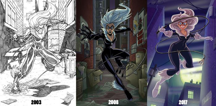 Blackcat Draw Again Progression by natelovett