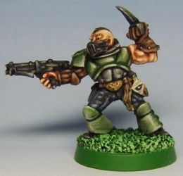 Rogue Trader: Bane (Space Marine Scout Renegade) by FraterSINISTER
