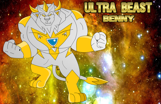 Ultra Beast Benny by SuperLionCharge-Art