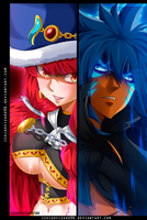 Fairy Tail 488 - Eileen Belserion  vs Acnologia by IchigoVizard96