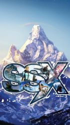 SSX mobile wallpaper by LastBlues