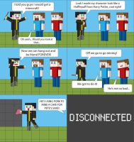 Minecraft XII by T-3000