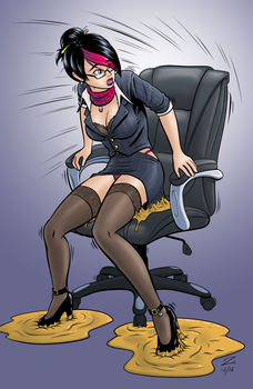 Headmistress Fiora Stuck by Zefram