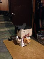 Kane with chestbuster CubeeCraft by SuperVegeta71290