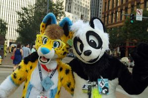 My first Anthrocon experience 2 by pandapaco