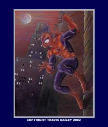 Spiderman Peter Parker by henderson