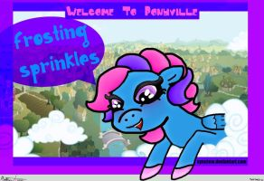 Welcome To Ponyville: Frosting Sprinkles! by SymzTew