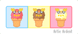 Darumaka Ice Cream Cones