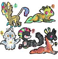 Collab Designs for sale. uvu,, (CLOSED) by Simonetry