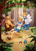 Kagamine Twins - Forest Melodia by Edraviciel