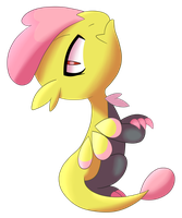 Shiny Jangmo-o by Little-Papership