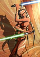 Ahsoka during the Empire by Montano-Fausto