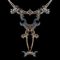 Medieval Steampunk Necklace by HalTenny