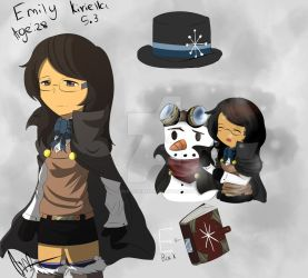 W.T.S.F Emily (OC)-Character sheet by DinoLover123